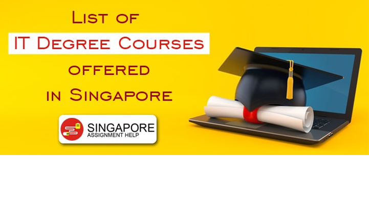 List of IT Degree Courses offered in Singapore