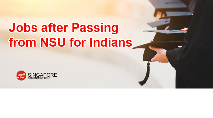 What is the job scene like for Indian students graduating from an MBA program in NUSNTU in Singapore