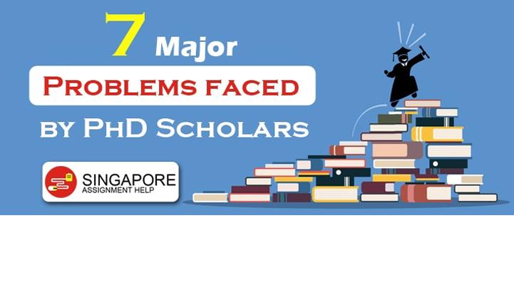 phd scholars problems