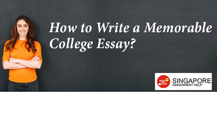 How to Write a Memorable College Essay