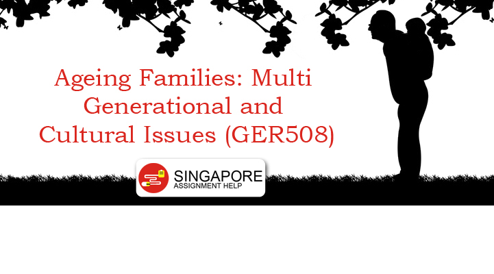 Ageing Families Multi Generational and Cultural Issues (GER508)