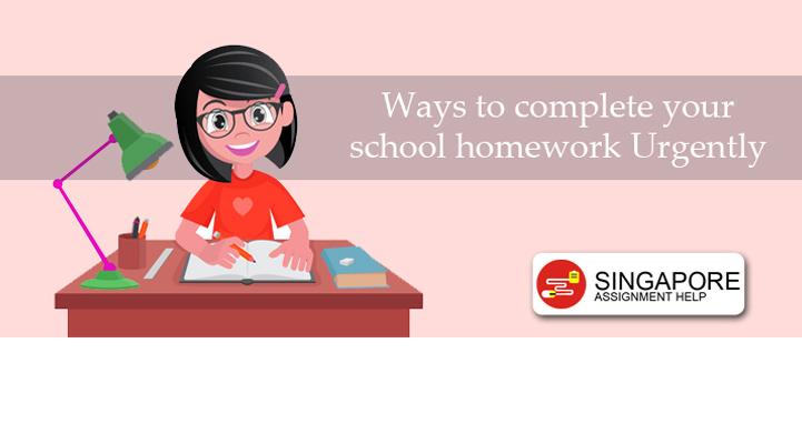 Finish College Homework at last minute – Secret way Singapore Students