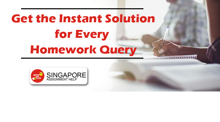 Get the Instant Solution for Every Homework Query