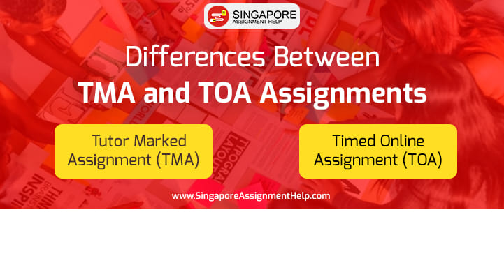 Differences Between TMA and TOA Assignments