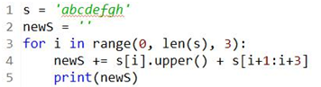 Explain in ONE (1) sentence what the code segment does