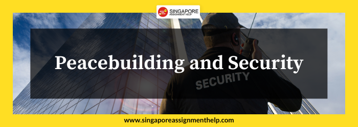 Peacebuilding and Security (PSS315) SUSS Assignment Sample Singapore